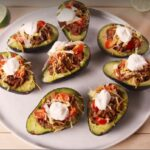 Keto Stuffed Taco Avocados